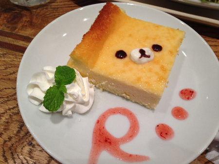 コリラックマ チーズケーキ